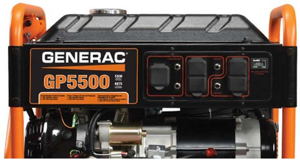 Generac GP Series 5500 Portable Generator from GME Supply