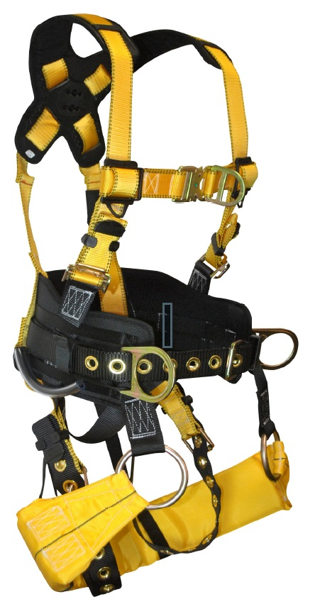 FallTech 7042 Journeyman Tower Climbing Harness