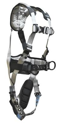 7088 FallTech FlowTech 3 D-ring Full Body Harness