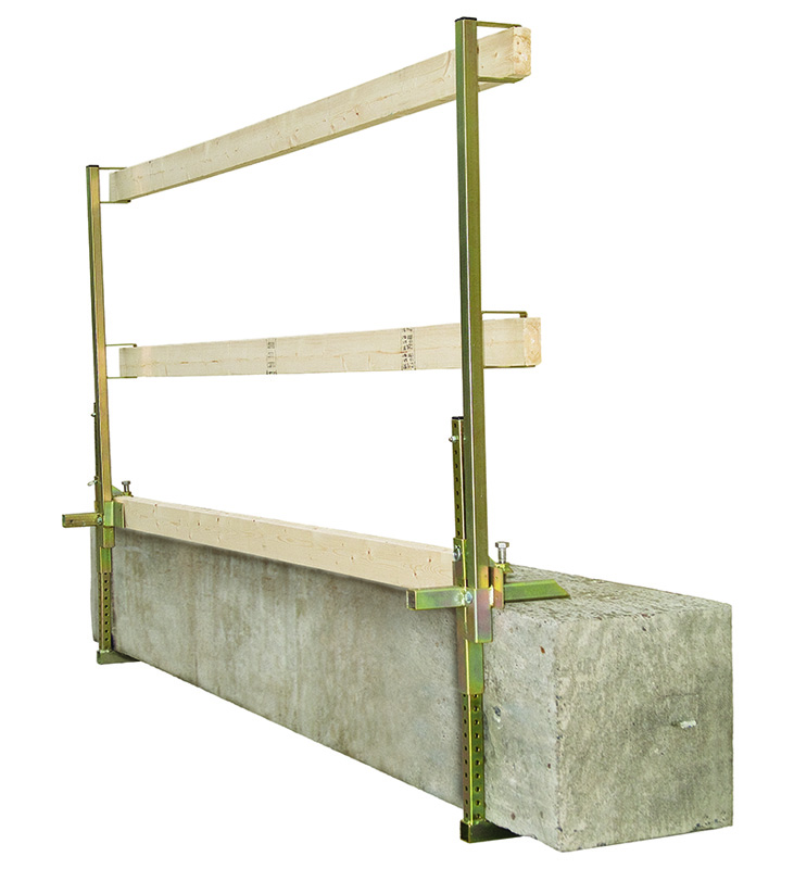 DBI Sala 7901000 Portable Construction Guardrail from GME Supply