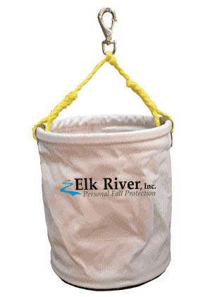 84403, Elk River White Cotton Duck Bucket