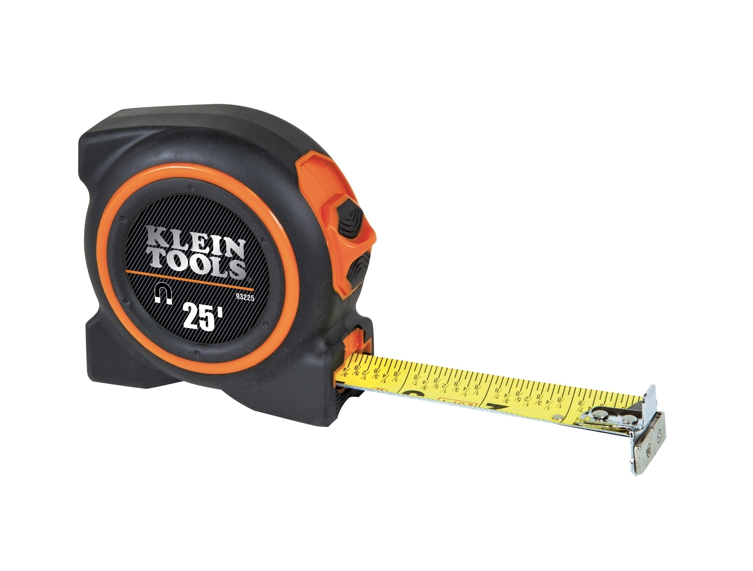 Klein Tools 93225 Tape Measure- 25' Magnetic Double Hook
