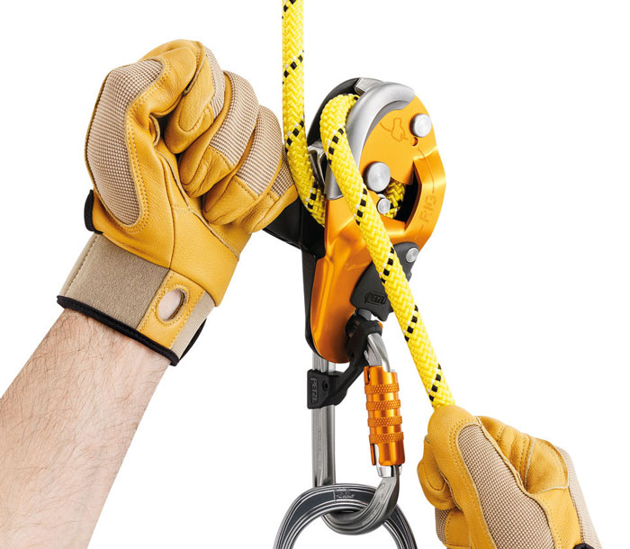 Petzl RIG Self-Braking Descender from GME Supply