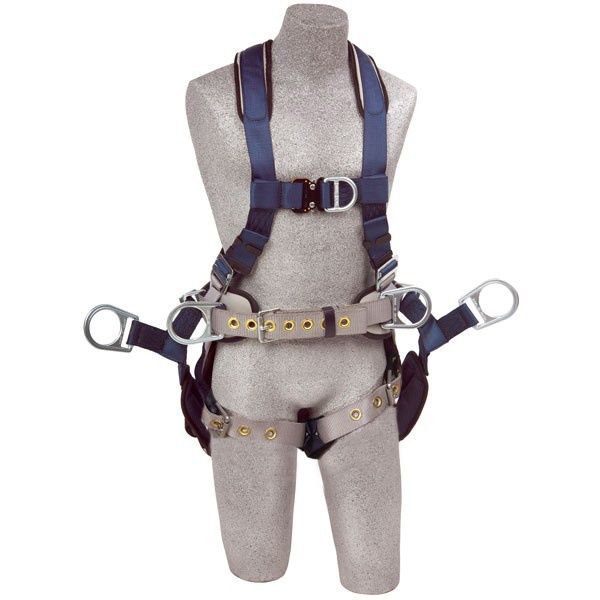 dbi sala exofit tower climbing harness with tongue and buckle leg straps  polyken berry global duct tape 236 48mm
