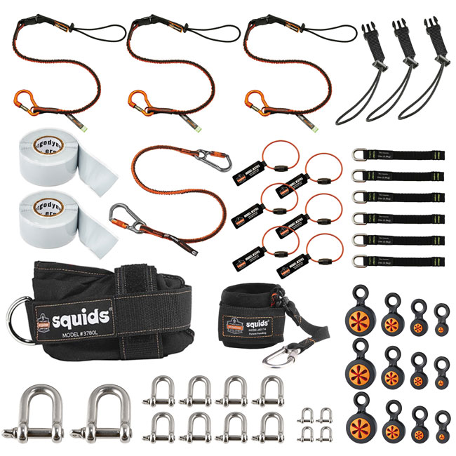 Ergodyne Gear Expert Wind Technician Tool Tethering Kit from GME Supply