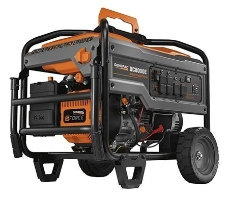 Generac XC8000E Portable Gas Generator from GME Supply