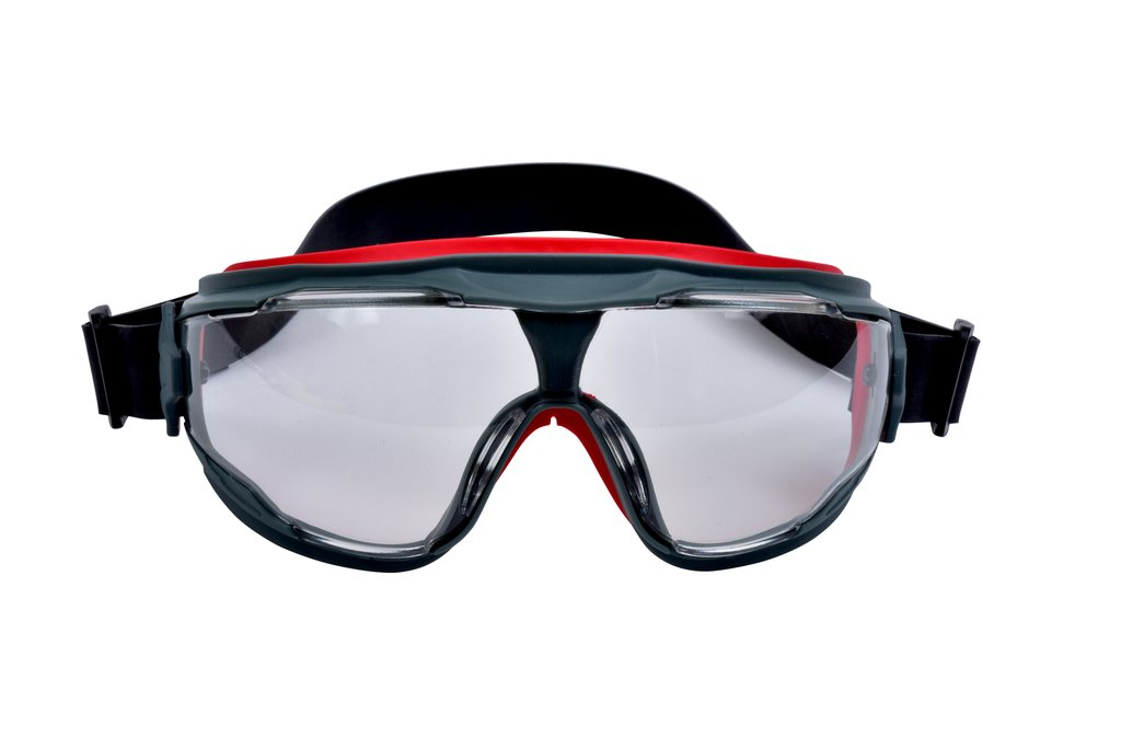 3M Goggle Gear 500-Series GG501NSGAF Clear Scotchgard Anti-fog lens, Neoprene Strap, 10 EA/Case from GME Supply