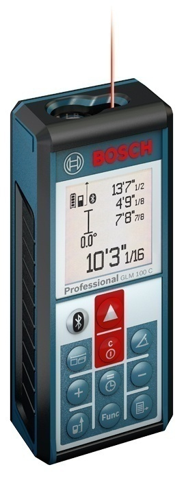 Bosch Bluetooth Laser Measure from GME Supply