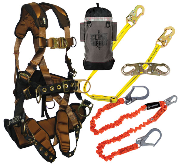 FallTech ComforTech Tower Climbing Kit from GME Supply