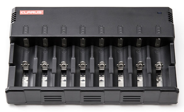 Illumagear Klarus C8 8-Bay Universal Battery Charger from GME Supply