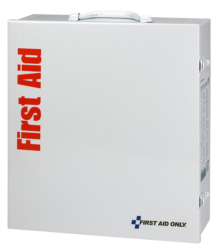 First Aid Only 100 Person ANSI B+ Metal First Aid Cabinet from GME Supply