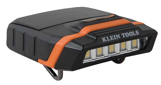 Klein Tools LED Cap Visor Light from GME Supply