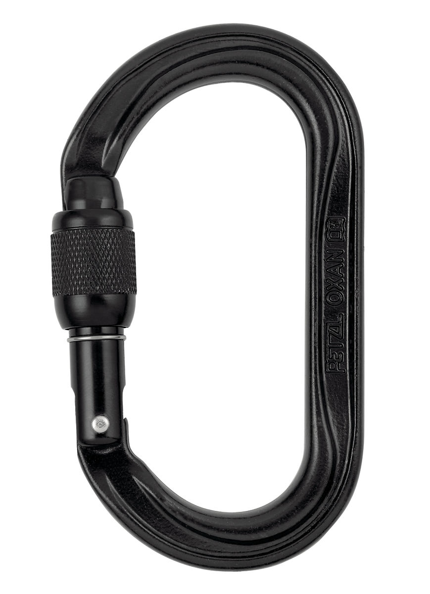 OXAN SL High Black Strength Carabiner from GME Supply