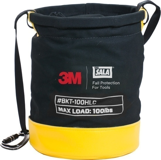 DBI Sala 100 lb Load Rated Drawstring Canvas Safe Bucket from GME Supply