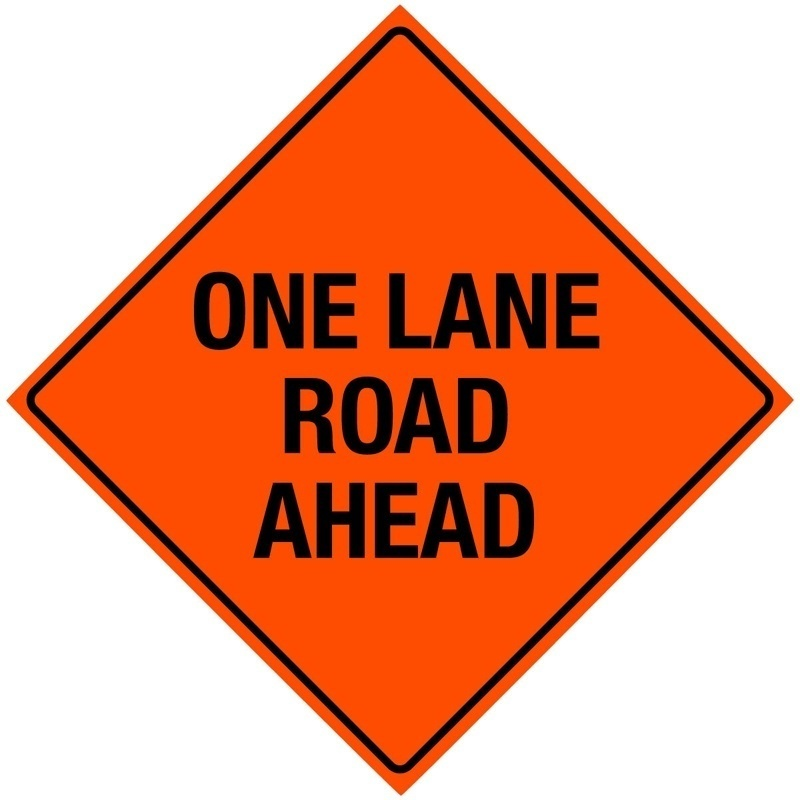 One Lane Road Ahead from GME Supply