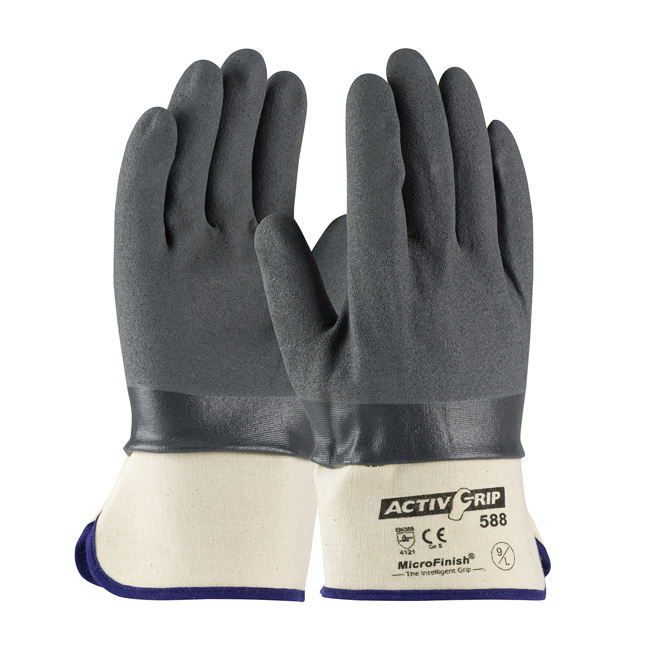 PIP ActivGrip Work Glove with Safety Cuff from GME Supply