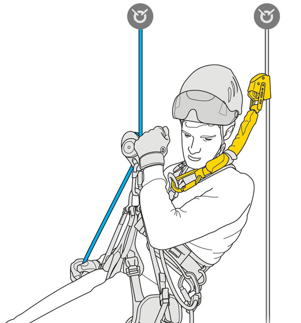 PETZL ASAP'Sorber Axess from GME Supply