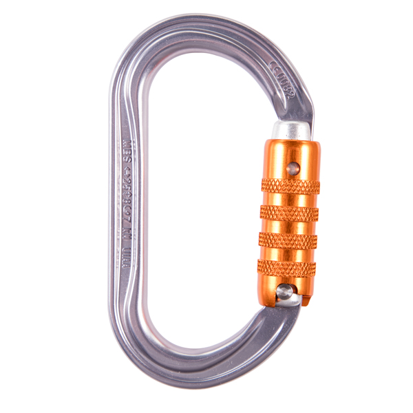 Petzl OK Aluminum Oval Carabiner Triact-Lock from GME Supply