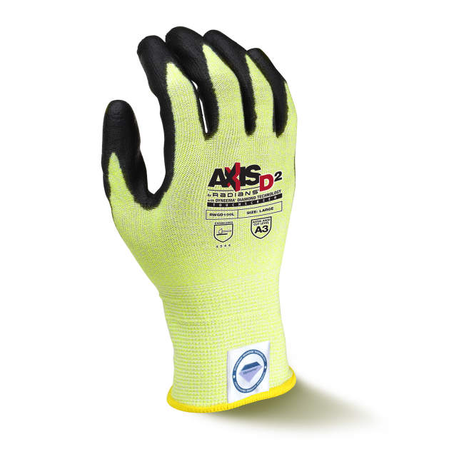 Radians AXIS D2 Dyneema Cut A3 Touchscreen Glove from GME Supply