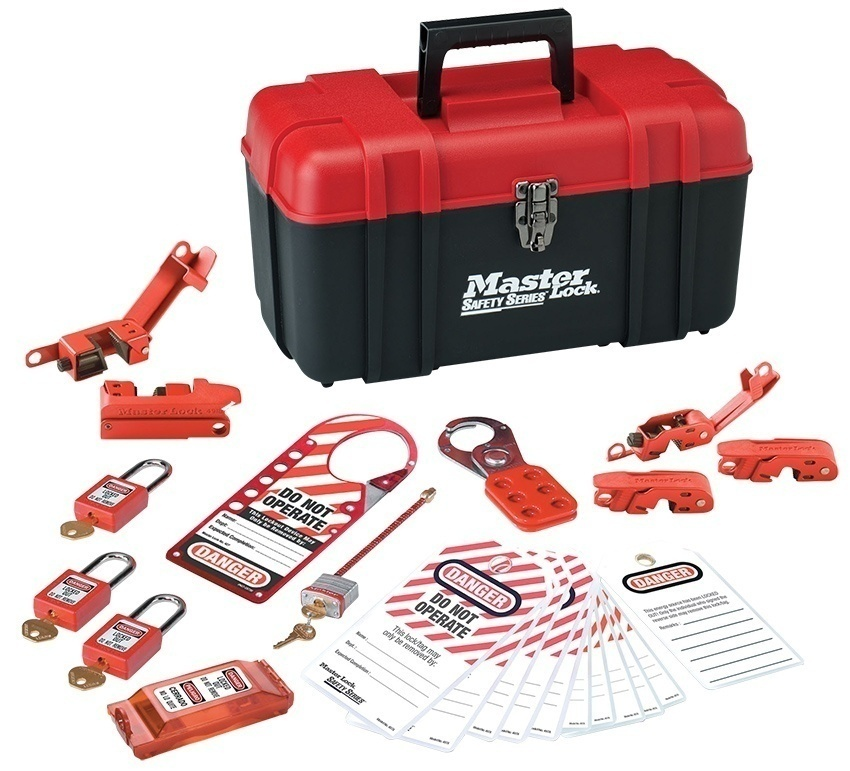 Master Lock Electrical Lockout/Tagout Kit from GME Supply