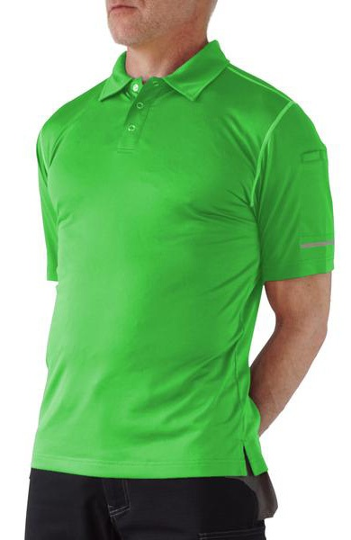Truewerk S17-0005-GN T.5 Viz Green WerkPolo from GME Supply