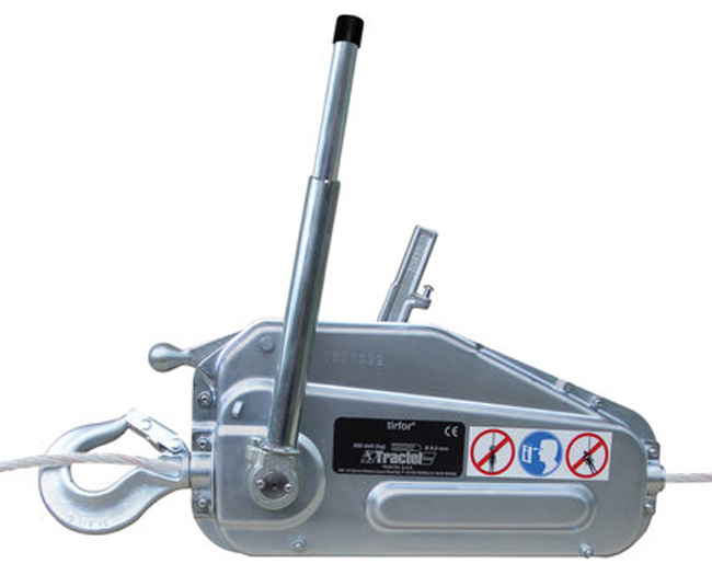 Tractel Griphoist/Tirfor Wire Rope Hoists with Wire Rope from GME Supply