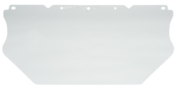 10117750 MSA Polycarbonate V-Gard Visor, Clear