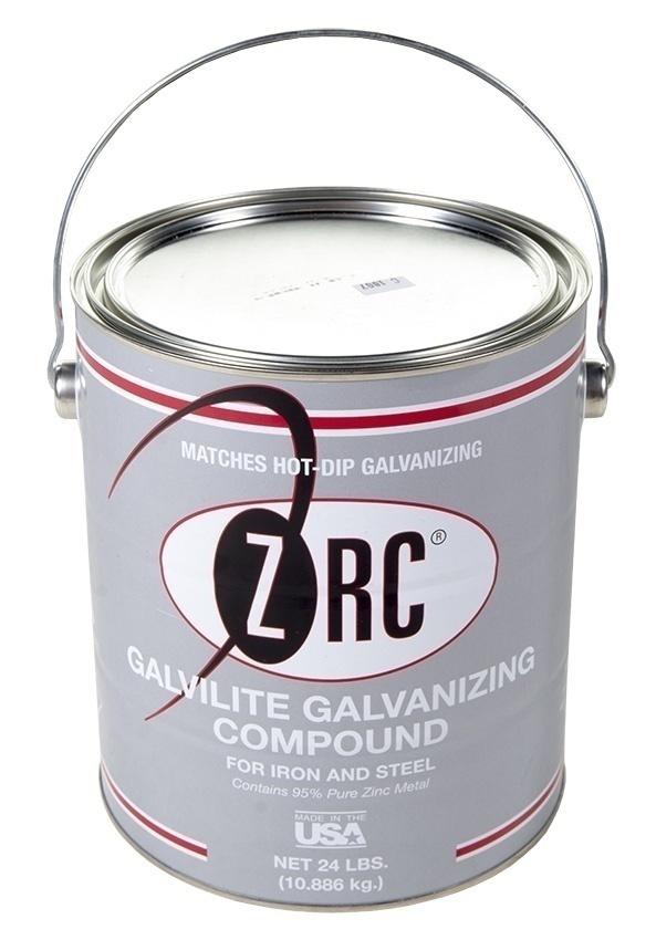 ZRC Galvilite Galvanizing Compound Shiny Finish - 1 Gallon