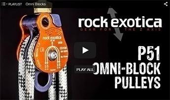Rock Exotica Omni Block Pulleys - GME Supply